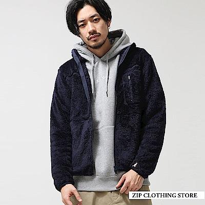 聯名款仿羊絨夾克(5色) ZIP日本男裝