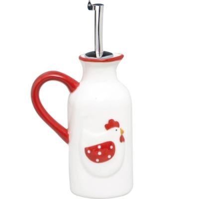 《EXCELSA》單耳陶製油醋瓶(公雞150ml)