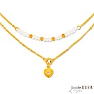 J'code真愛密碼 珍愛你黃金/水晶/天然珍珠項鍊