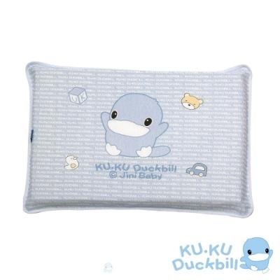 KUKU酷咕鴨 嬰兒感溫記憶趴枕加厚款(藍/粉)