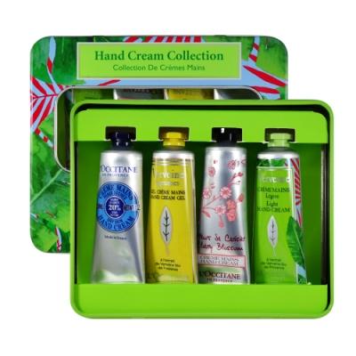 L OCCITANE 歐舒丹 護手霜4件禮盒組 30mlx4 Hand Cream Collection