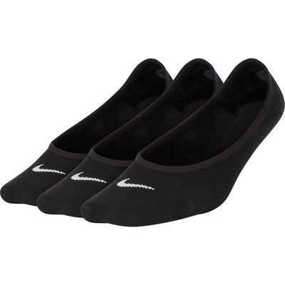 NIKE 耐吉 襪子 船型襪 隱形襪 運動襪 6雙組 黑 SX4863-010 EVRY LTWT FOOT
