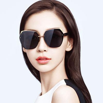 MOLSION太陽眼鏡 Angelababy代言/金-黑#MS7017 A60