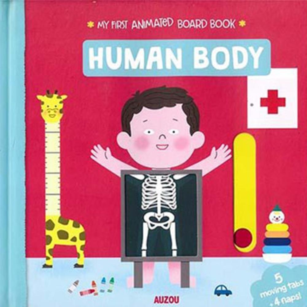 My First Animated Board Book:Human Body