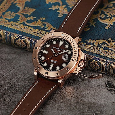 GIORGIO FEDON 1919 AQUAMARINE II 海洋機械錶(GFCR003)