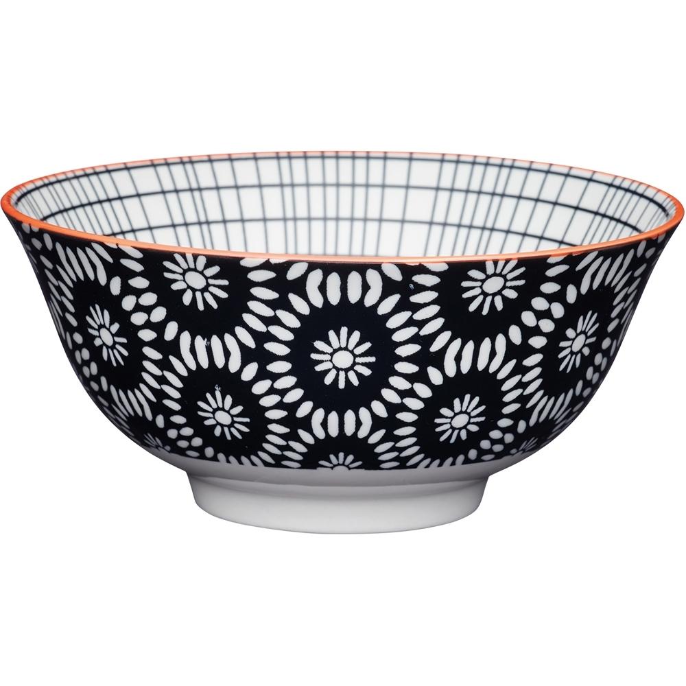 《KitchenCraft》陶製餐碗(雛菊)