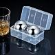[荷生活]304不鏽鋼圓形冰球 冰酒石-兩顆裝 product thumbnail 1