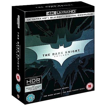 蝙蝠俠 黑暗騎士傳奇三部曲4K UHD+BD九碟套裝版