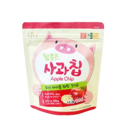 韓國【NATURAL CHOICE】動物園幼兒脆片 7M+ (蘋果、雪梨)