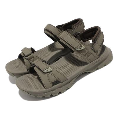 Merrell 涼鞋 Cedrus Convert 3 女鞋 緩衝 舒適 內嵌式避震墊片 穩定 耐磨 綠 灰 ML036240