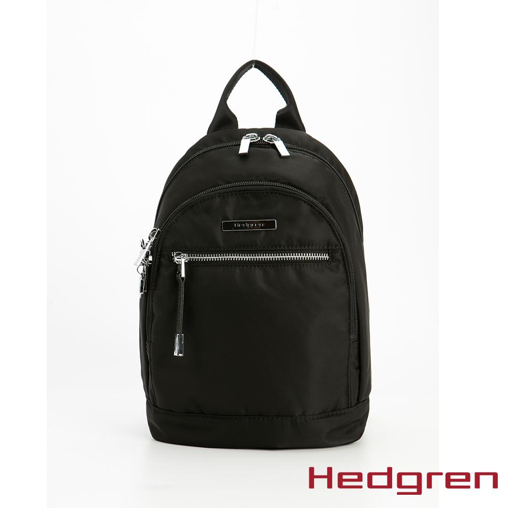 Hedgren 黑休閒後背包 - HAUR 07 SHEEN
