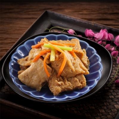 餃子樂 紅燒豆皮(400g±10g/盒)