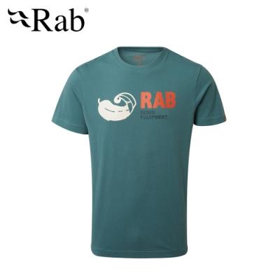 【英國 RAB】Stance Vintage SS 短袖有機棉上衣 男款 極光綠 #QCB13