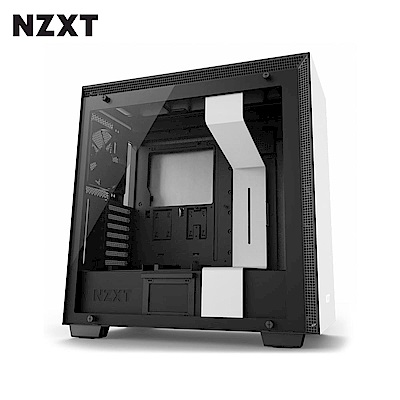 NZXT恩傑 H700 MID-TOWER CASE 電腦機殼/鋼化側透玻璃-白