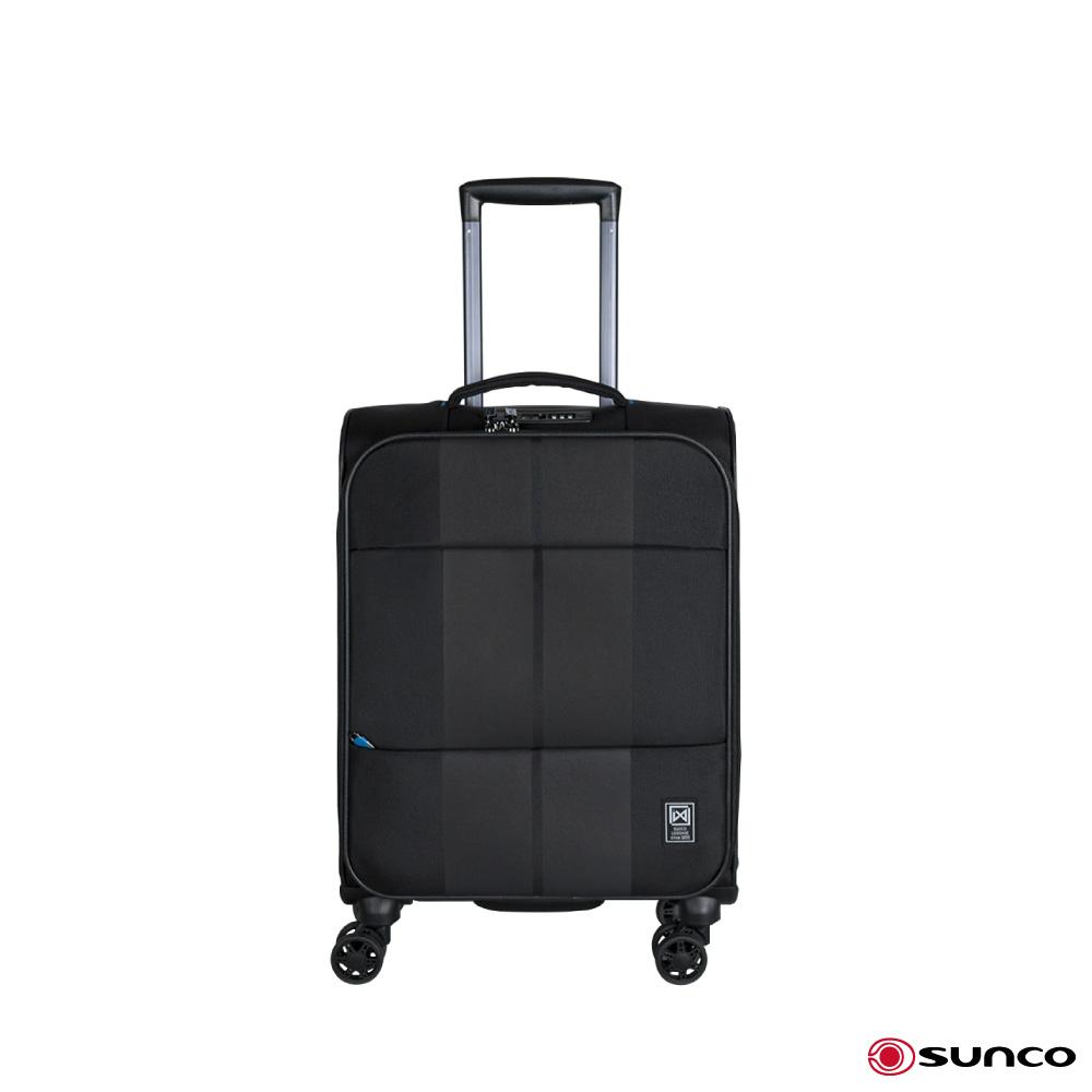 日本SUNCO finoxy zero 19.5吋 登機拉鍊軟箱