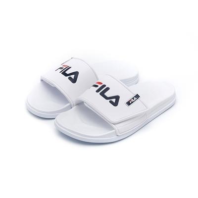 FILA SLEEK TENDER VELCRO 中性拖鞋-白 4-S636V-100