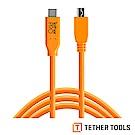 Tether Tools CUC2415-ORG Pro傳輸線 USB-C轉