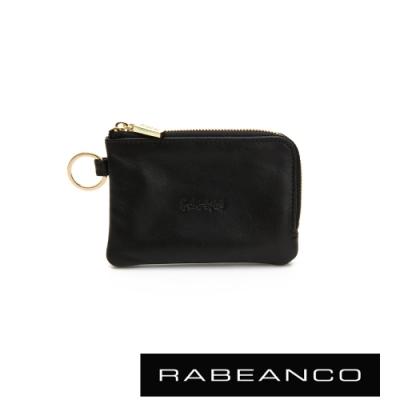 RABEANCO 迷時尚系列鑰匙零錢包 黑
