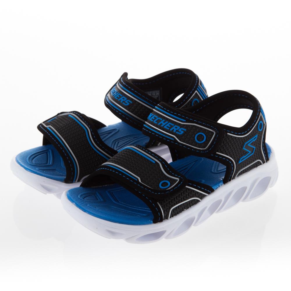 SKECHERS 男童 涼拖鞋系列HYPNO SPLASH-90522LBKBL