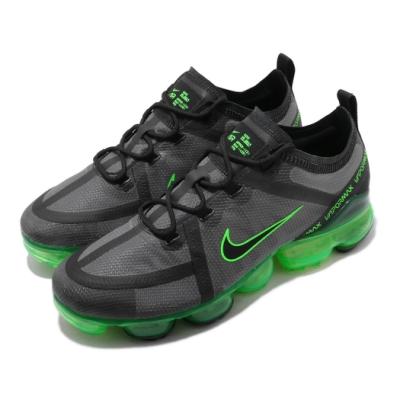 Nike 慢跑鞋 Vapormax 2019 運動 男鞋 海外限定 氣墊 避震 舒適 健身 球鞋 黑 綠 AR6631011