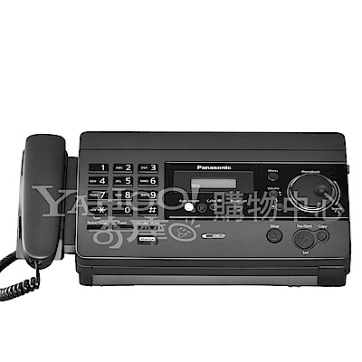 Panasonic 國際牌 感熱紙傳真機 KX-FT501 (鈦金屬黑)