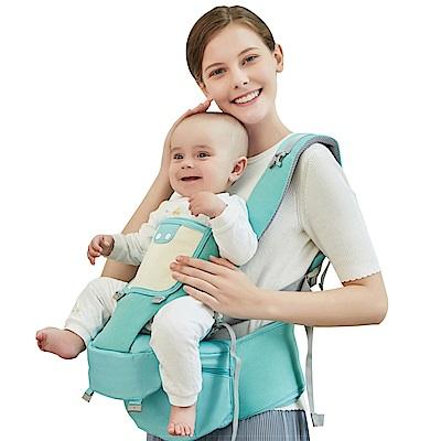KINGROL/DIGUMI前抱式嬰兒背帶 可收納功能腰凳可斜躺揹帶
