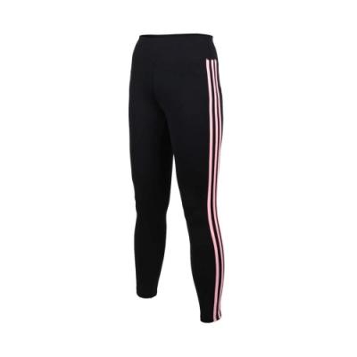 SOFO 女九分韻律長褲-有氧 瑜珈 慢跑 路跑 長褲 緊身褲 黑粉紅