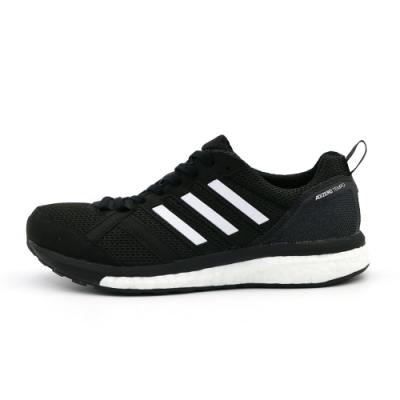 ADIDAS adizero tempo 9 w 女 跑步鞋 黑-B37426