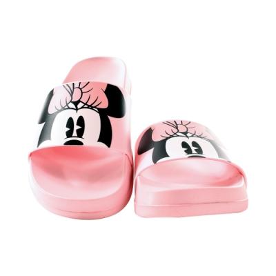 魔法Baby 女鞋 台灣製迪士尼米妮授權正版新潮時尚拖鞋sd3084