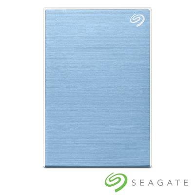 Seagate One Touch 4TB 外接硬碟 冰川藍(STKZ4000402)