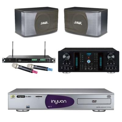 音圓N2C+FNSD A-350+SK-8610+ACT-589(伴唱機 4TB+卡拉OK套組)