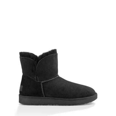UGG短靴 經典Cuff迷你短靴 可反摺造型羊毛雪靴