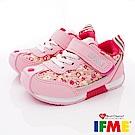 IFME健康機能鞋 小碎花運動款 EI71202粉紅(小童段)