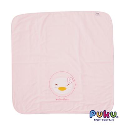 【PUKU】四方毛巾被-粉
