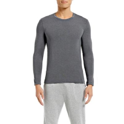 三槍牌 時尚經典TG-HEAT型男長袖發熱衣灰色1件組