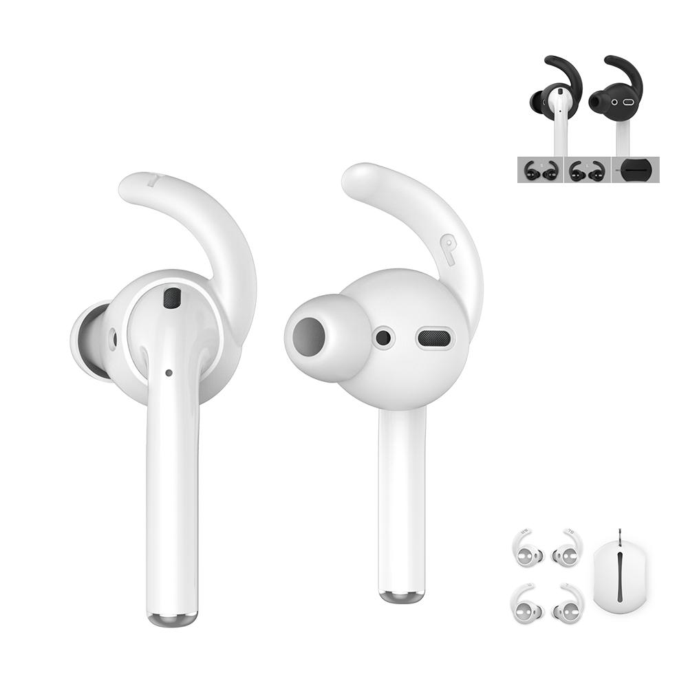AHAStyle 入耳式耳套 AirPods/EarPods 適用耳塞耳機套 2組入