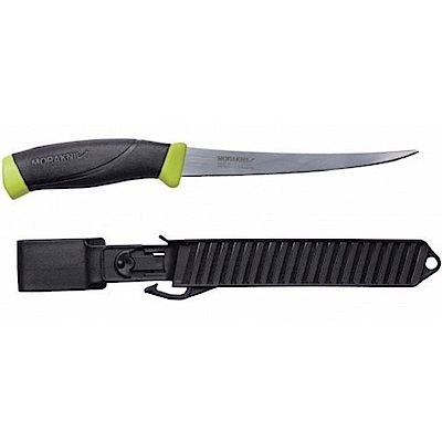 MORAKNIV Fishing Comfort Fillet 155 不鏽鋼戶外魚刀 黑