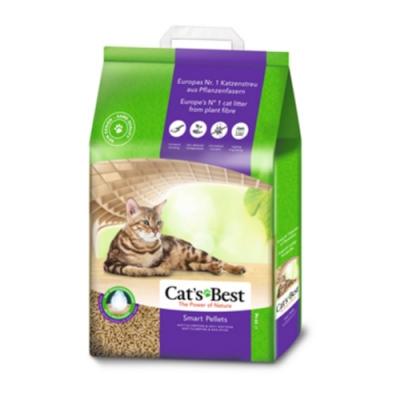 德國凱優Cat′s Best-特級無塵凝結木屑砂(紫標凝結型) 10kg