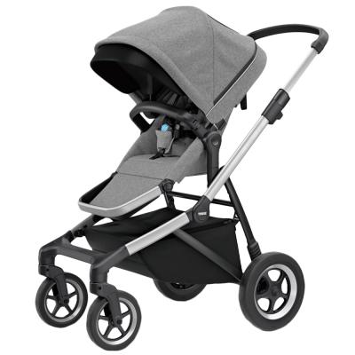 【Thule 都樂】Sleek系列 四輪嬰兒推車 下單加贈 雨罩+托盤+杯架 (多色任選)