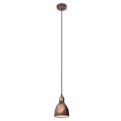 EGLO歐風燈飾 工業風燈罩式吊燈(不含燈泡)