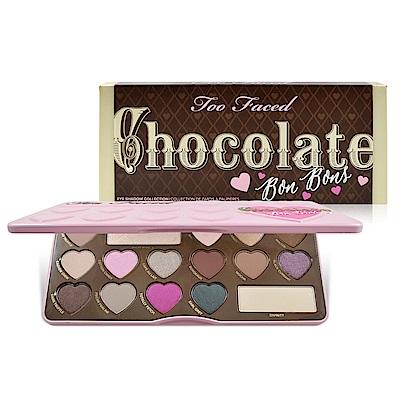 Too Faced 16色巧克力眼影盤-心型 0.85gx16