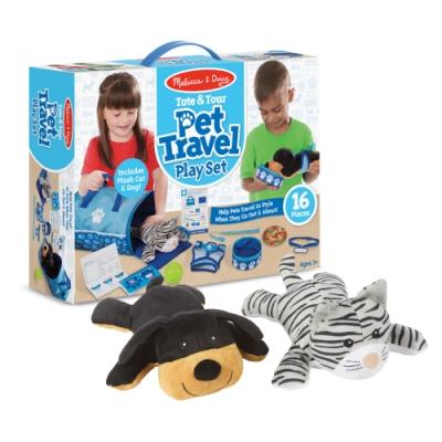 美國瑪莉莎 Melissa & Doug 寵物手提包旅行組