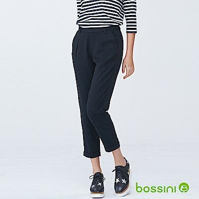 bossini女裝-彈性修身褲02黑