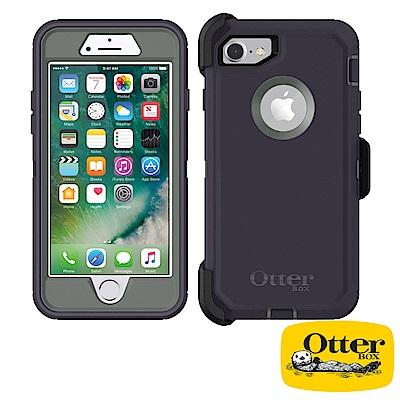 OtterBox iPhone7 / iPhone8防禦者系列保護殼-風暴灰