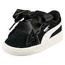 PUMA-SuedeHeartJewel孩童鞋-黑色