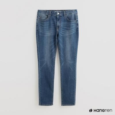 Hang Ten - 男裝 - 自然刷色牛仔長褲 - 藍