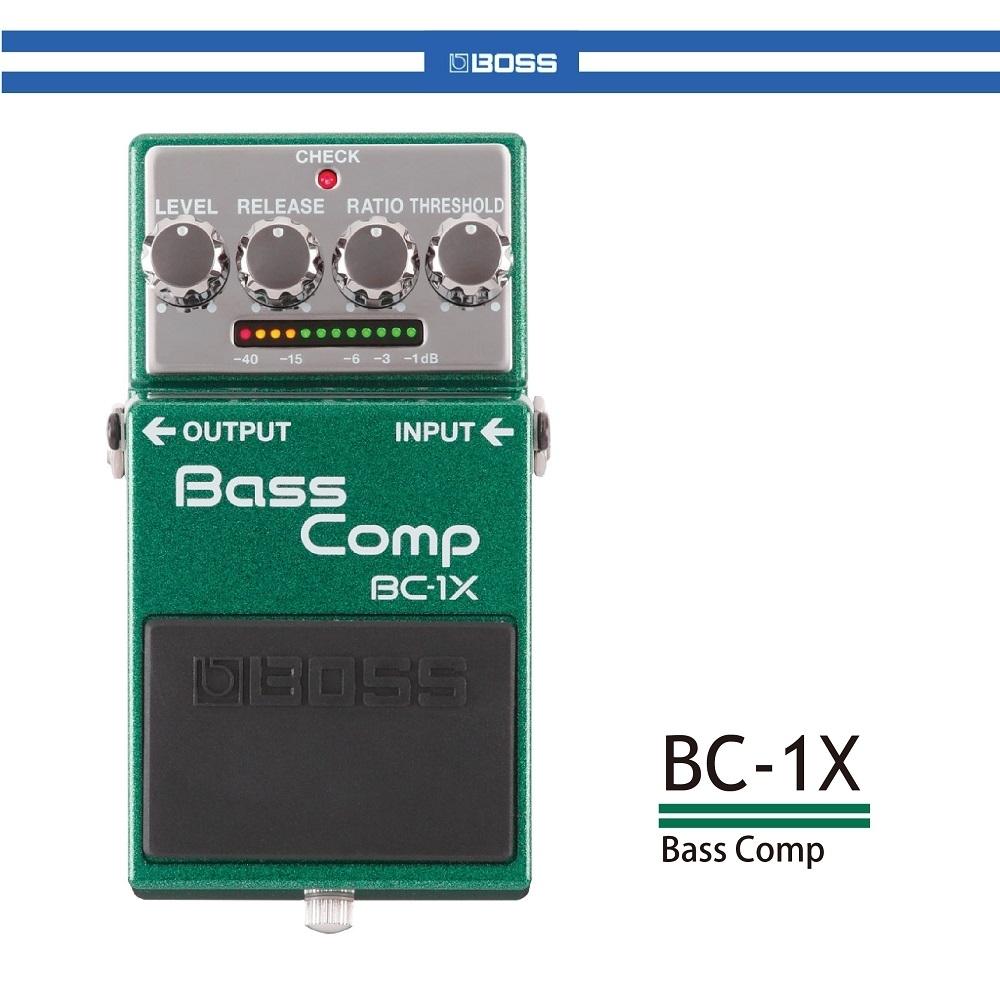 BOSS BC-1X 貝斯壓縮效果器