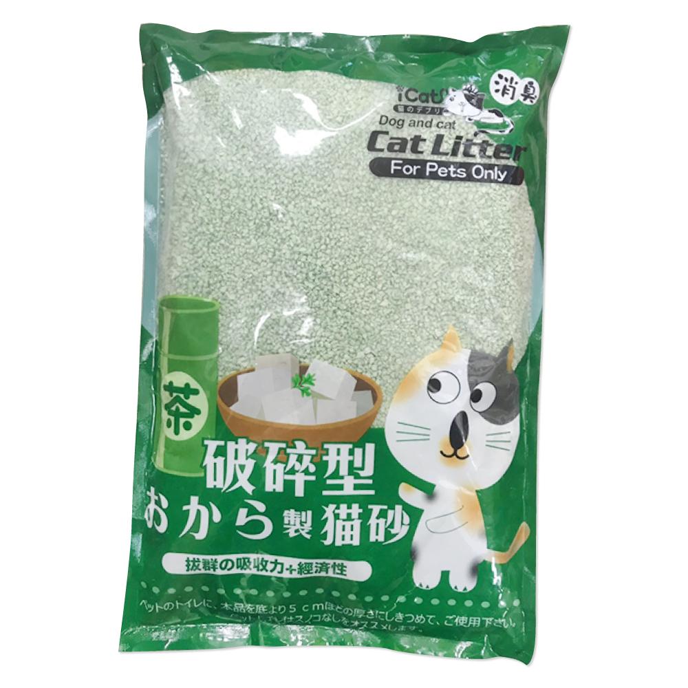寵喵樂 破碎無塵除臭結團豆腐貓沙6L(約2.5kg) 六包組