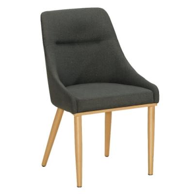 MUNA 普萊斯餐椅(五金腳)(1入)共兩色 50.5X57X86cm