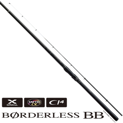 【SHIMANO】BORDERLESS BB 400H4S-T 磯釣竿 (25259)